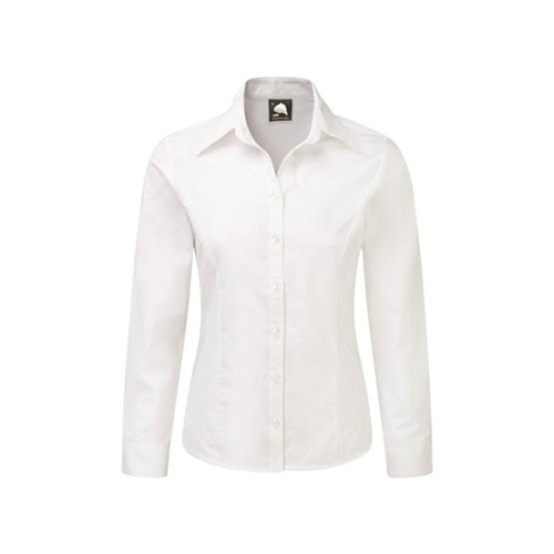 The Classic Ladies Oxford Long Sleeve Blouse (5560)