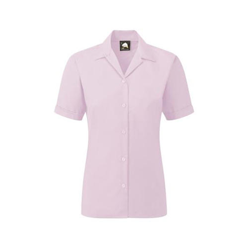 The Premium Oxford Short Sleeve Blouse (5650)